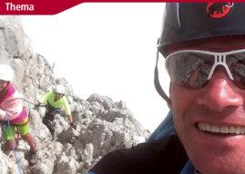 Trendsportart Klettern – Gefahren am Klettersteig