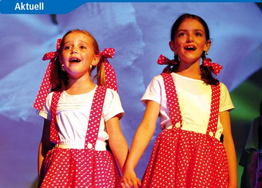 Jungdarsteller begeistern mit eigener Musicalproduktion