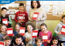 Volksschüler gestalten Weihnachts-Rezeptbuch