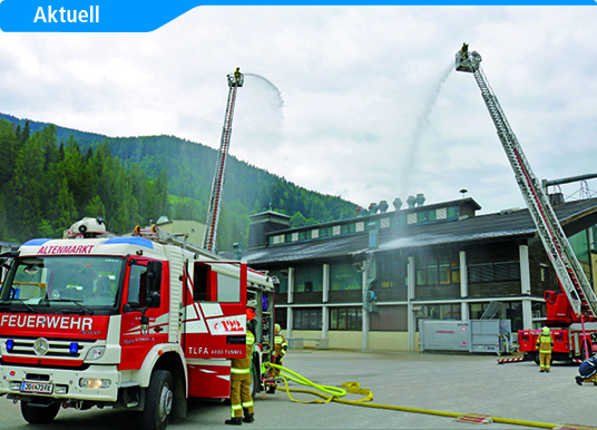 Groß angelegte Gefahrgut- und Atemschutzübung: Einsatzkräfte üben den Ernstfall
