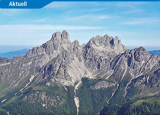 Bröckelige Bischofsmütze: Ein Berg in Bewegung