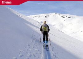 Sicher in die Skitourensaison