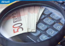 Schutz vor finanziellem Desaster